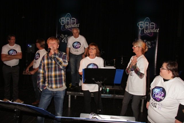 BRA-BANDET 25 årsjubileum 06.11.14. Med Ole Evenrud.