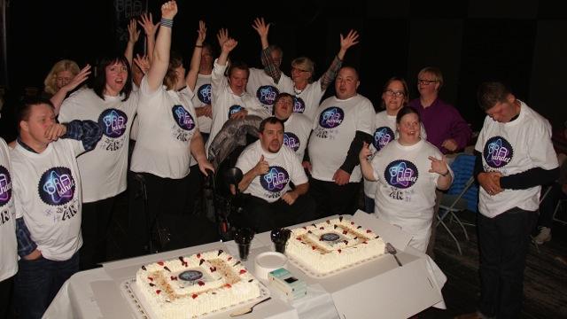 Hele gjengen samlet til 25-årsjubileum 06.11.14.