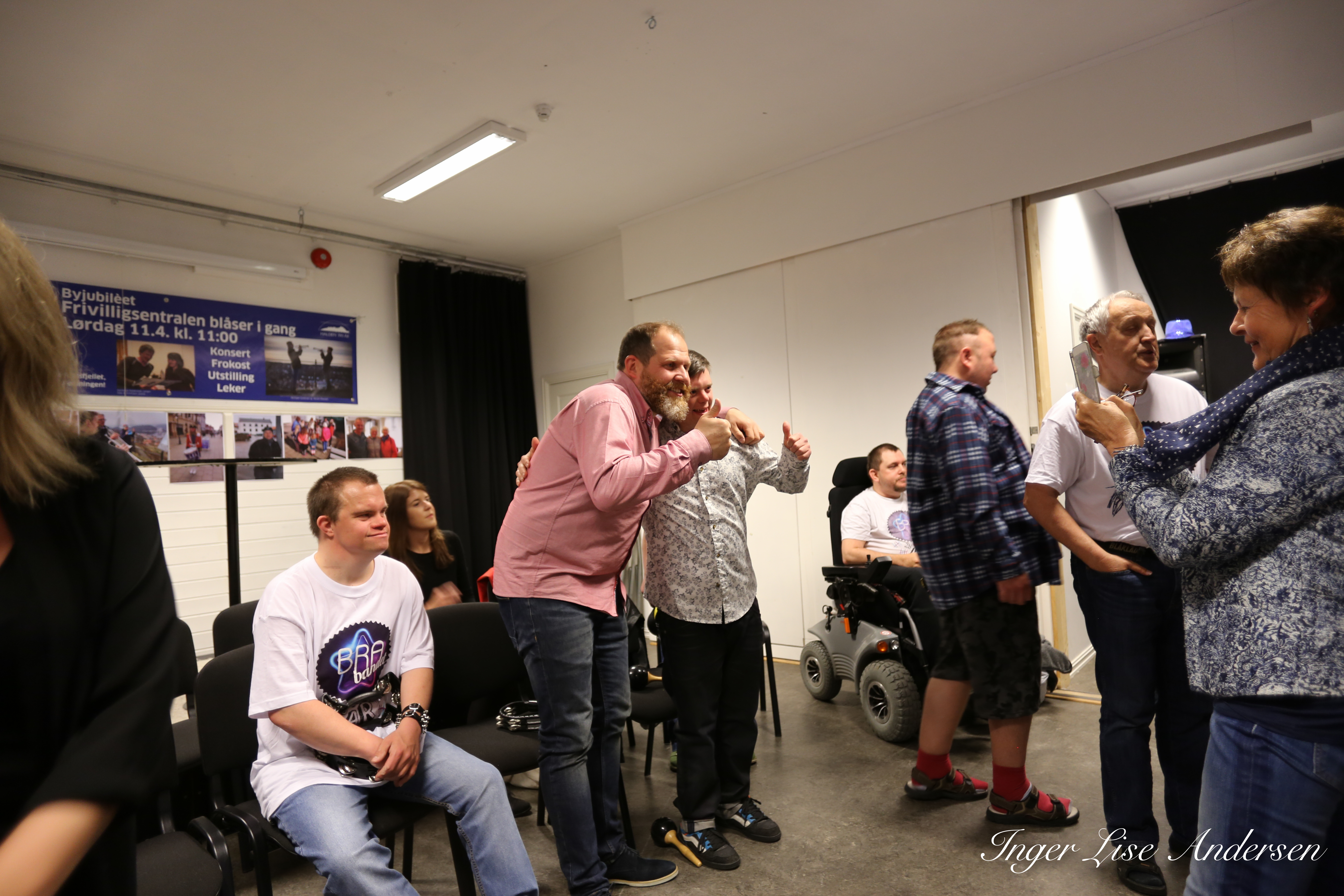 TV-innspilling med Truls Svendsen